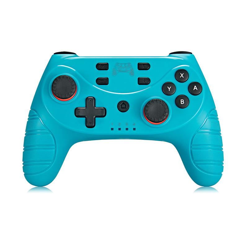Wireless Bluetooth Pro Controller Gamepad Joypad Remote Joystick For switch PRO blue