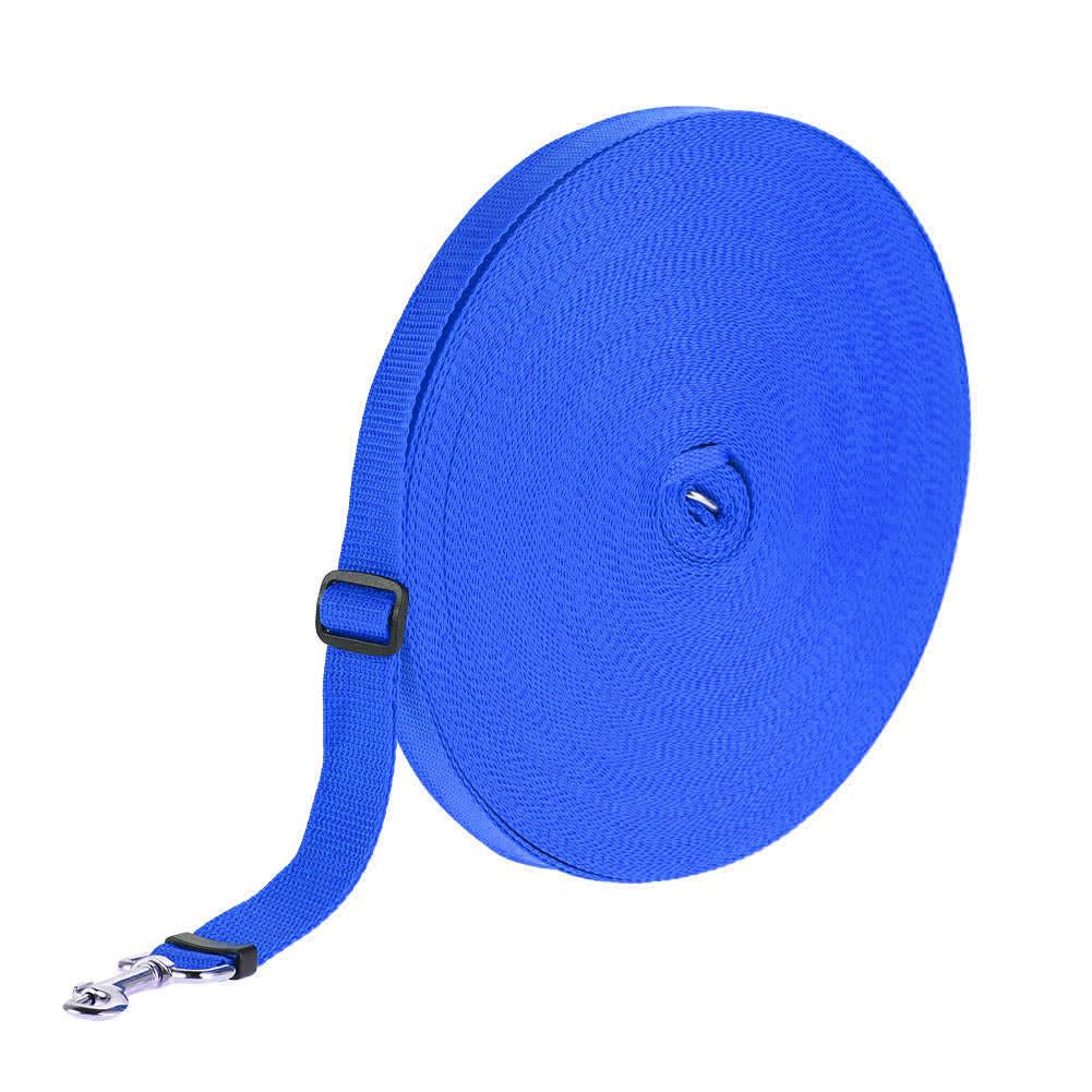 Adjustable Pet Training Leash for Outdoor Cat Dog Walking Control blue_20m