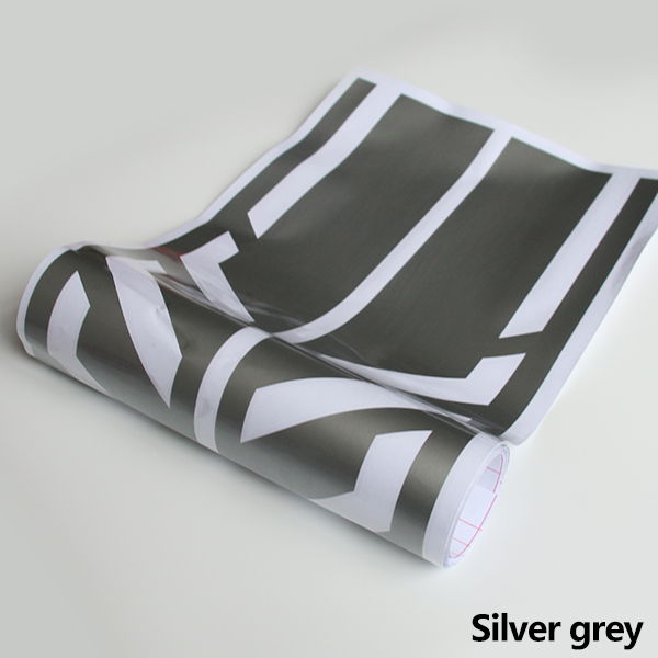 Style Side Stripes Decal Stickers for Mercedes Benz W176 A Class A45 AMG  light grey