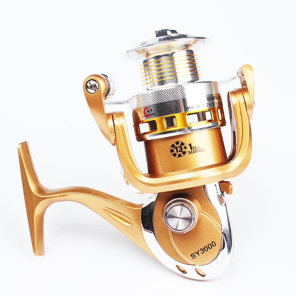 Big House Metal Spinning Fishing Reels Wheel For Fresh/ Salt Water Fishing Tool Accessories  6000