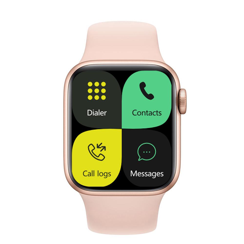 Iwo 13pro Smart Bracelet Outdoor Sports Health Monitor Full Touch Screen Smartwatch Pink
