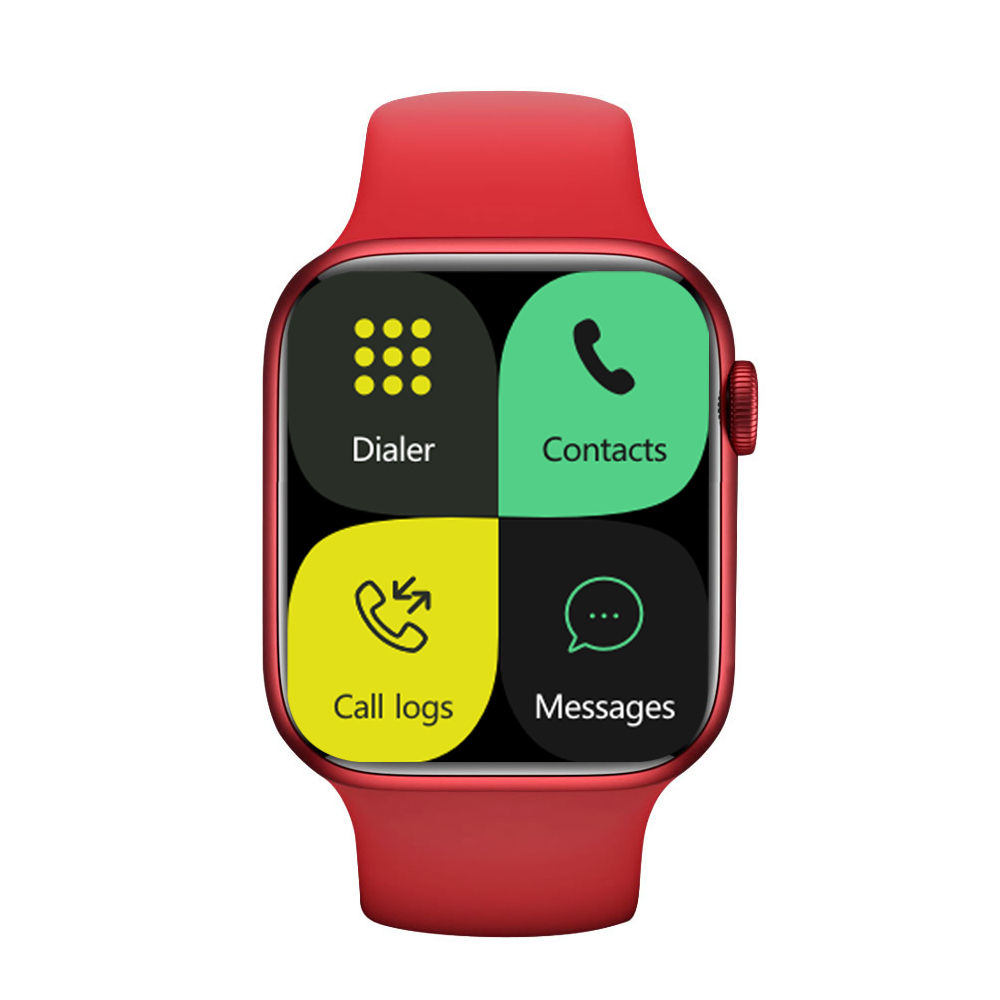 Iwo 13pro Smart Bracelet Outdoor Sports Health Monitor Full Touch Screen Smartwatch red