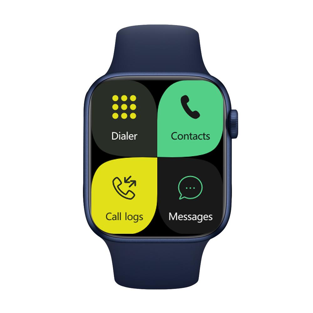 Iwo 13pro Smart Bracelet Outdoor Sports Health Monitor Full Touch Screen Smartwatch blue