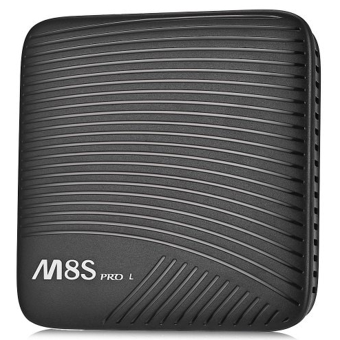 MECOOL M8S PRO L 3+32GB TV Box black, EU Plug