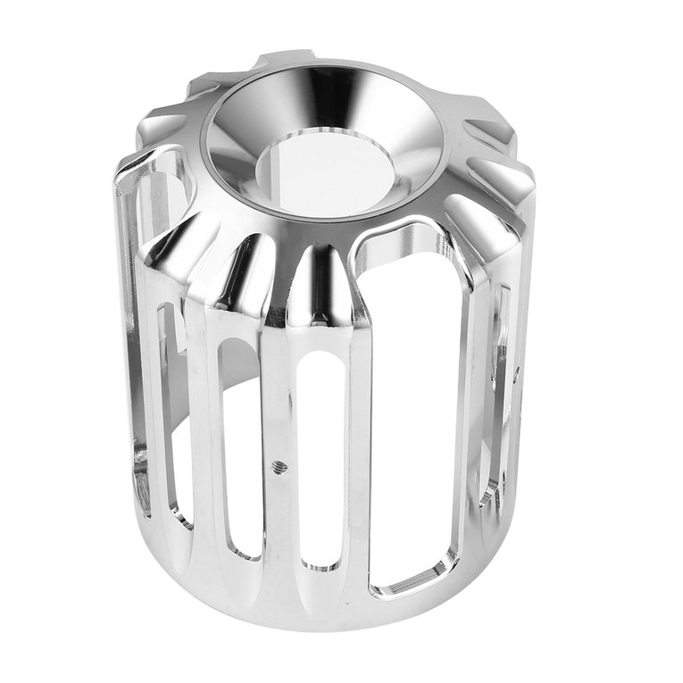 Oil Filter Cover Aluminum Alloy  For  Sportster Motorcycles  iron-plated color_Old type