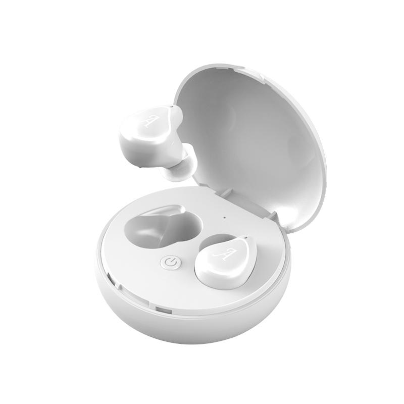 A4-TWS Wireless Bluetooth Headphone Wireless Stereo Music HI-FI CD Sound Quality Headset white