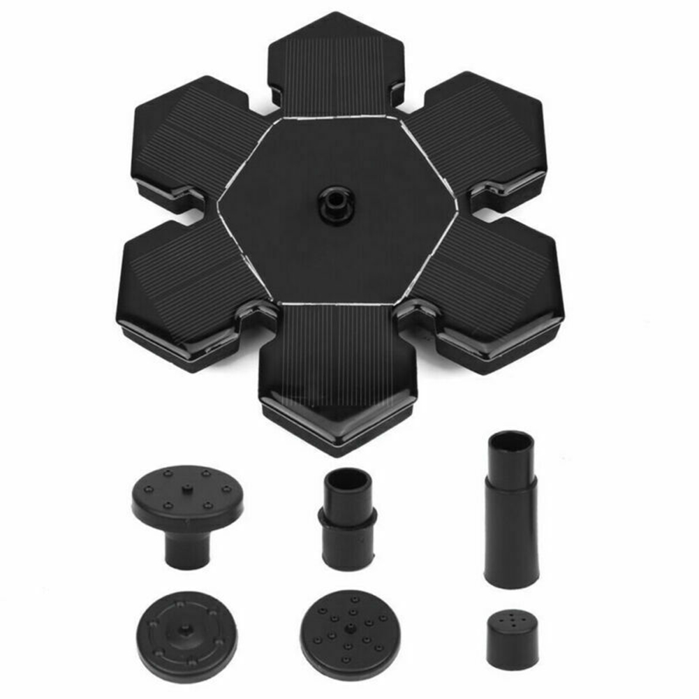 Outdoor Snow Flower Shape Solar Fountain (Not Including Storage Battery) AS20A1