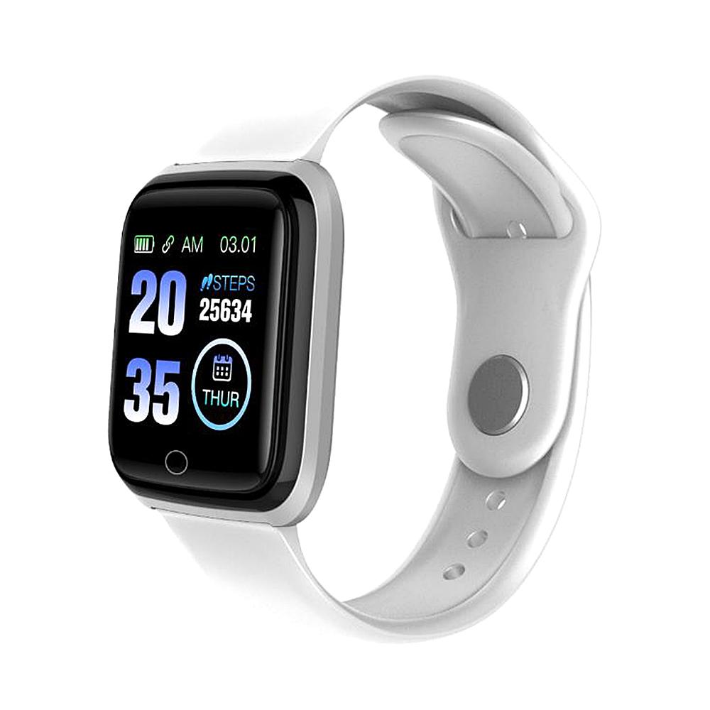 M6 Smart Band Watch Colorful Screen Fitness Tracker Waterproof Sport Passometer Bluetooth Wristband  White