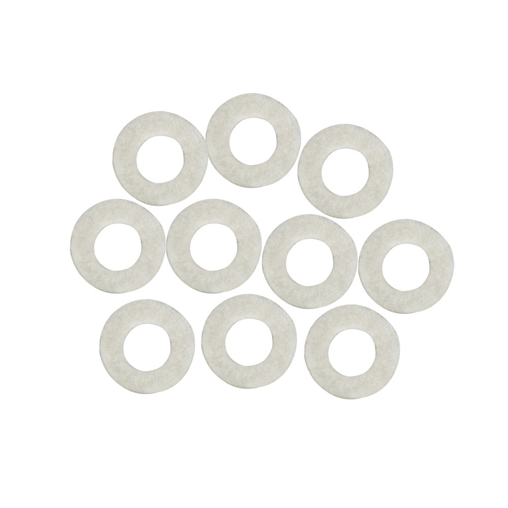 10Pcs White Trumpet Press Pads for Trumpet Repair Replacement Parts white
