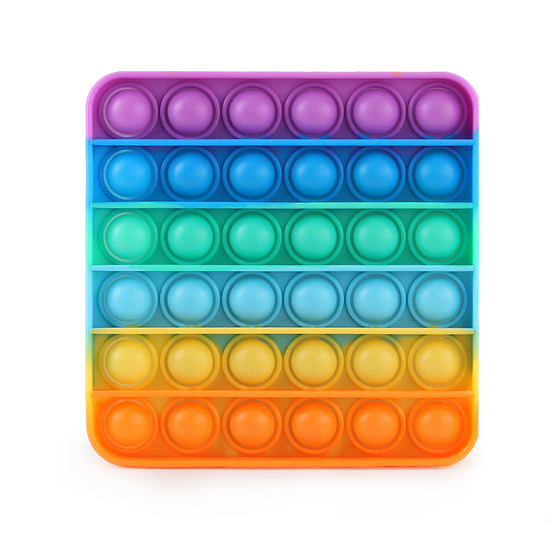 Silicone  Desktop  Educational  Toys Children Concentration Training Decompression Toy #2