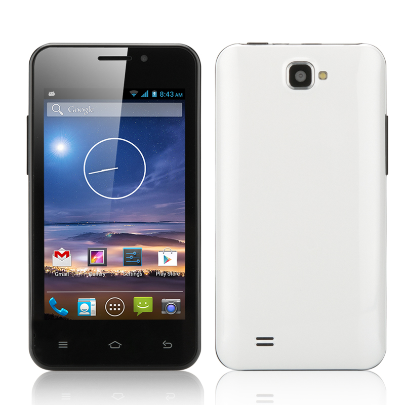 4 Inch Android 4.2 Smartphone 'Tegu' (White)