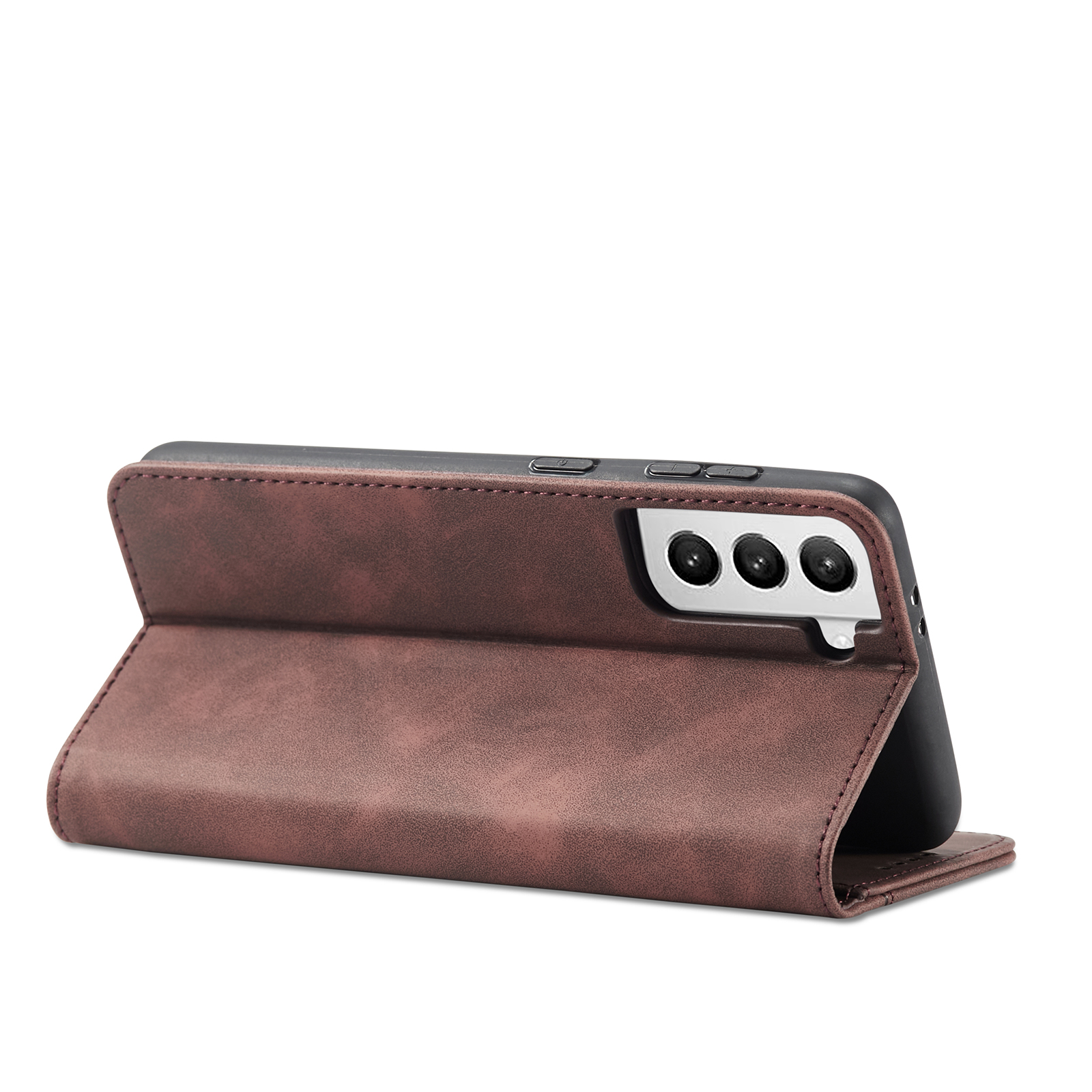 Mobile Phone Case For Samsung S30 Flip Phone Case Protective Case Cover Brown