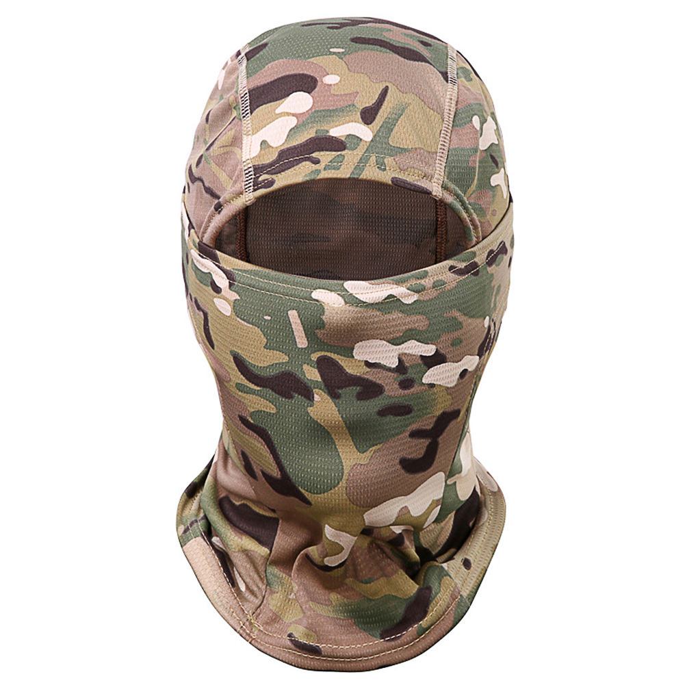 Outdoor Cycling Balaclava Full Face Mask Bicycle Ski Bike Ride Snowboard Sport Headgear camouflage_One size