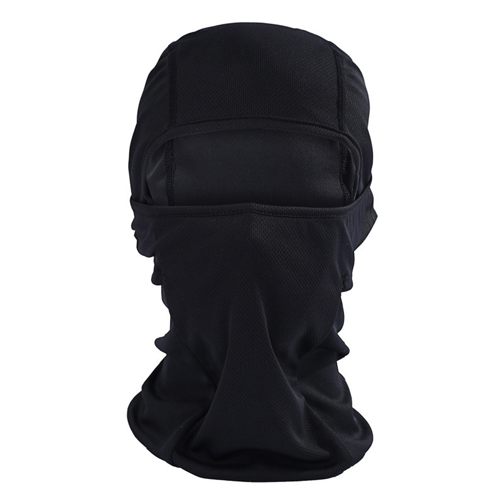 Outdoor Cycling Balaclava Full Face Mask Bicycle Ski Bike Ride Snowboard Sport Headgear black_One size