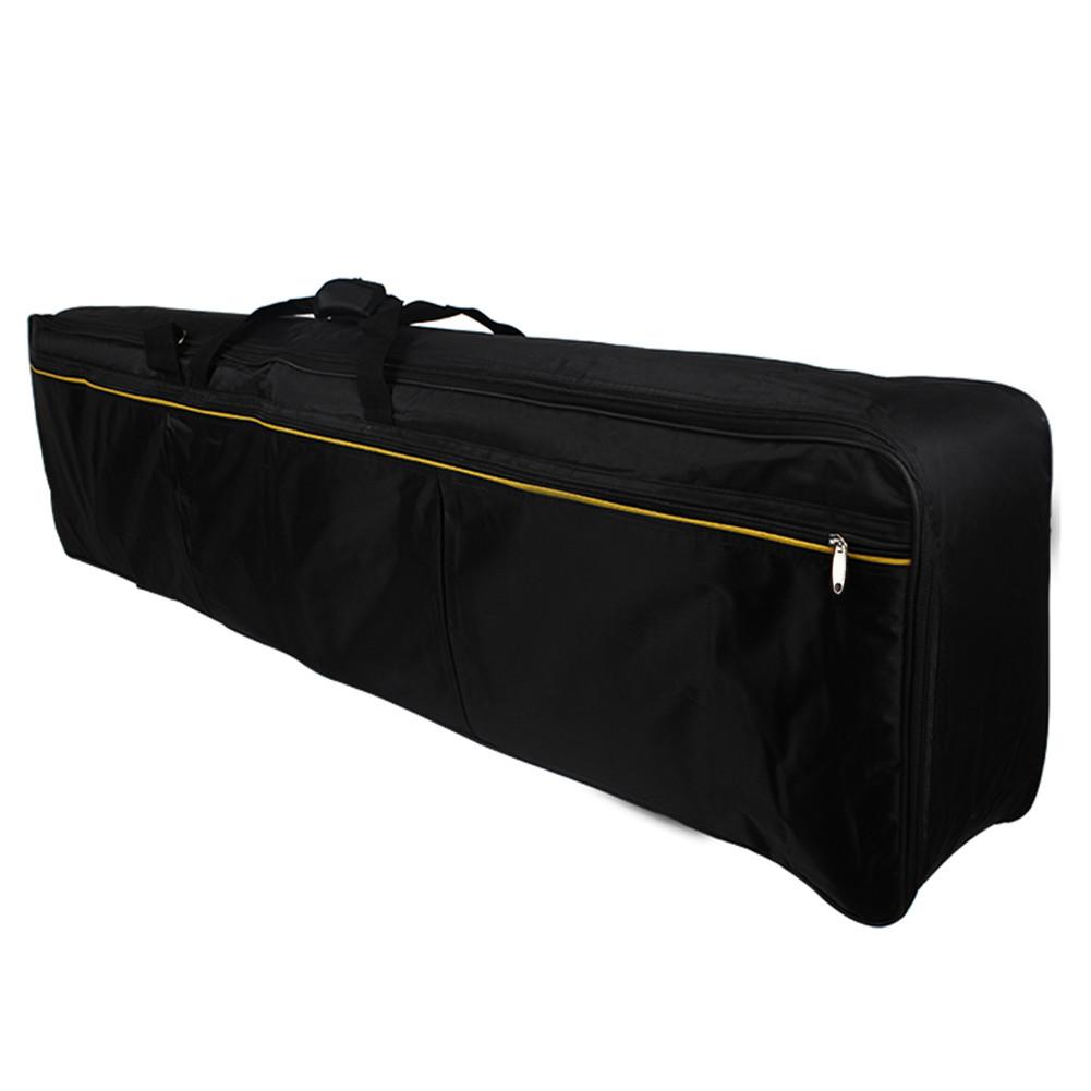 88 Keys Electronic Keyboard Pack Universal Waterproof Keyboard Thickened Bag Piano Keyboard Cover Case  black