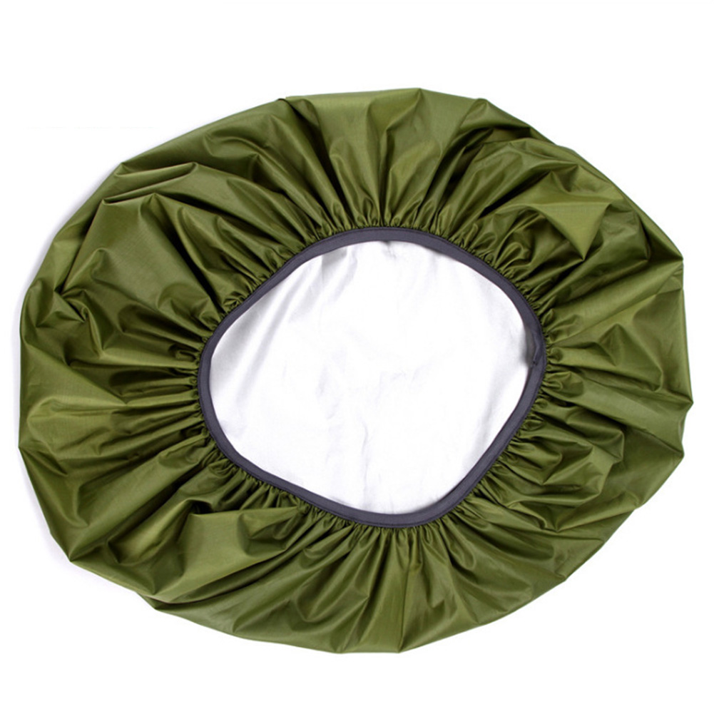 Waterproof Backpack Rain Cover Portable Ultralight Shoulder Bag Dustproof  Protect Outdoor Hiking Tools ArmyGreen_55-60 liters (L)
