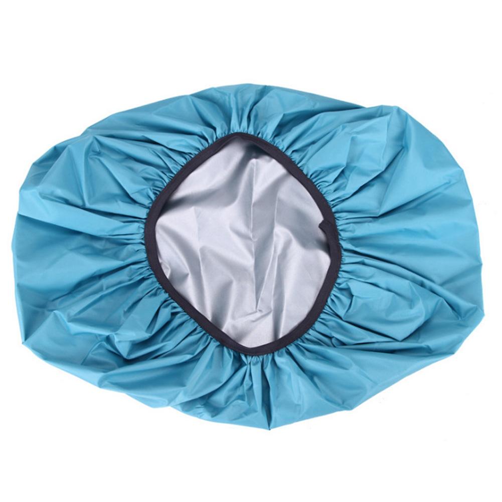 Waterproof Backpack Rain Cover Portable Ultralight Shoulder Bag Dustproof  Protect Outdoor Hiking Tools Lake Blue_70 liters (XL)