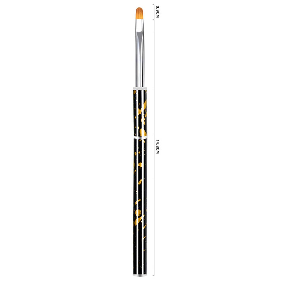 Nail painting brush Graffiti penholder UV gel Nail painting Crystal pen Yellow light therapy pen