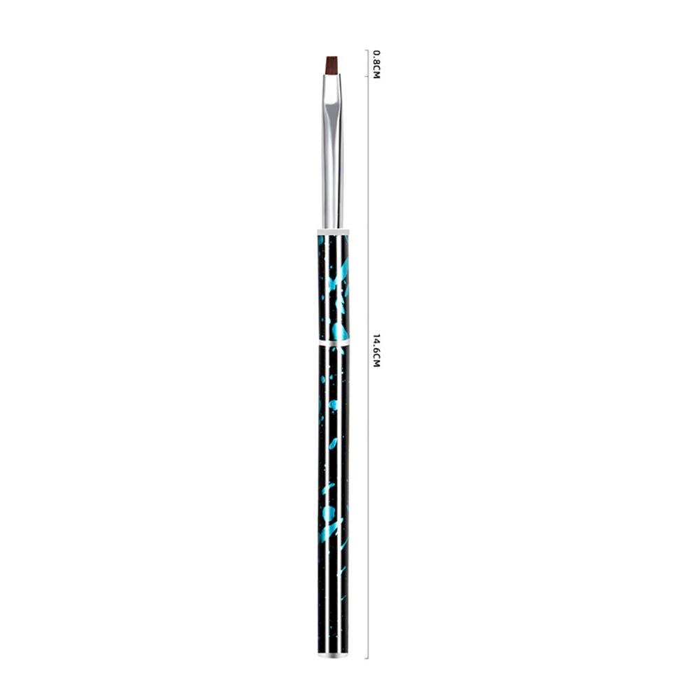 Nail painting brush Graffiti penholder UV gel Nail painting Crystal pen Blue light therapy pen