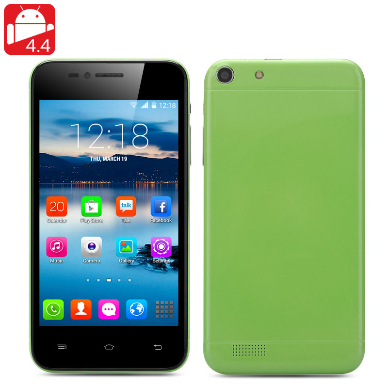 Q6 Android 4.4 Smartphone (Green)
