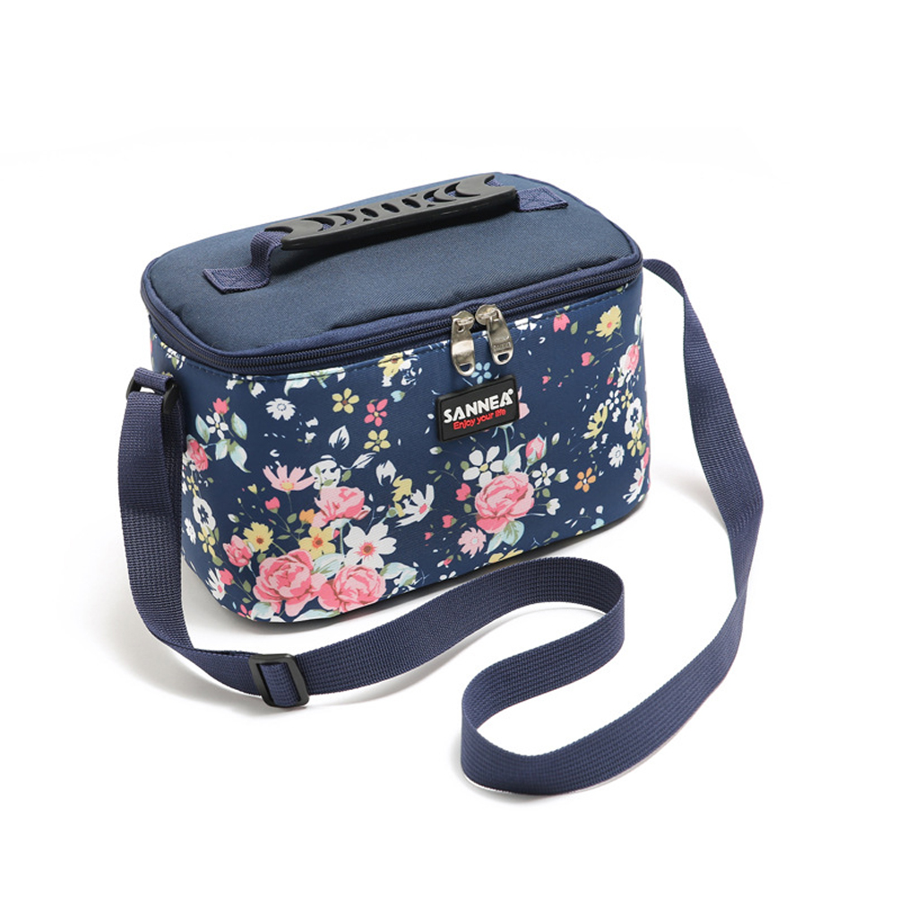 4.8L Cooler Bag Thermal Portable Waterproof Insulated Thermal Bag Cooler Picnic Lunch Bag Red