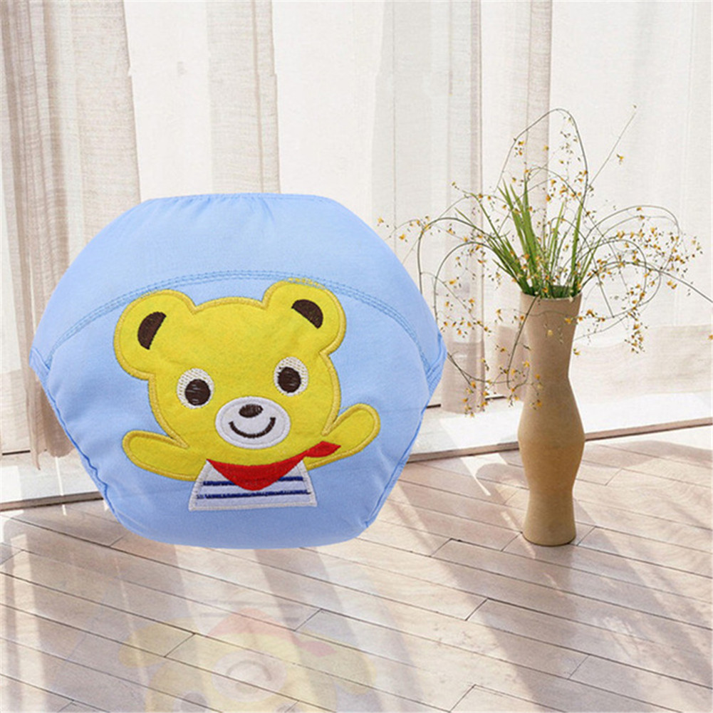 Baby Cotton Diaper Cartoon Embroidery Training Diaper