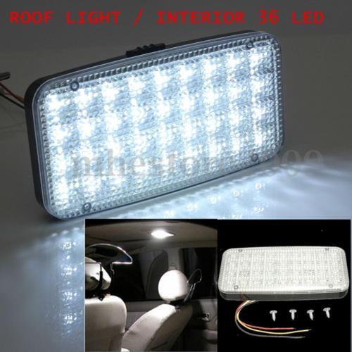 DC 12V 36 LED Vehicle Interior Ceiling Light Roof Lamp for Car Truck Auto Van