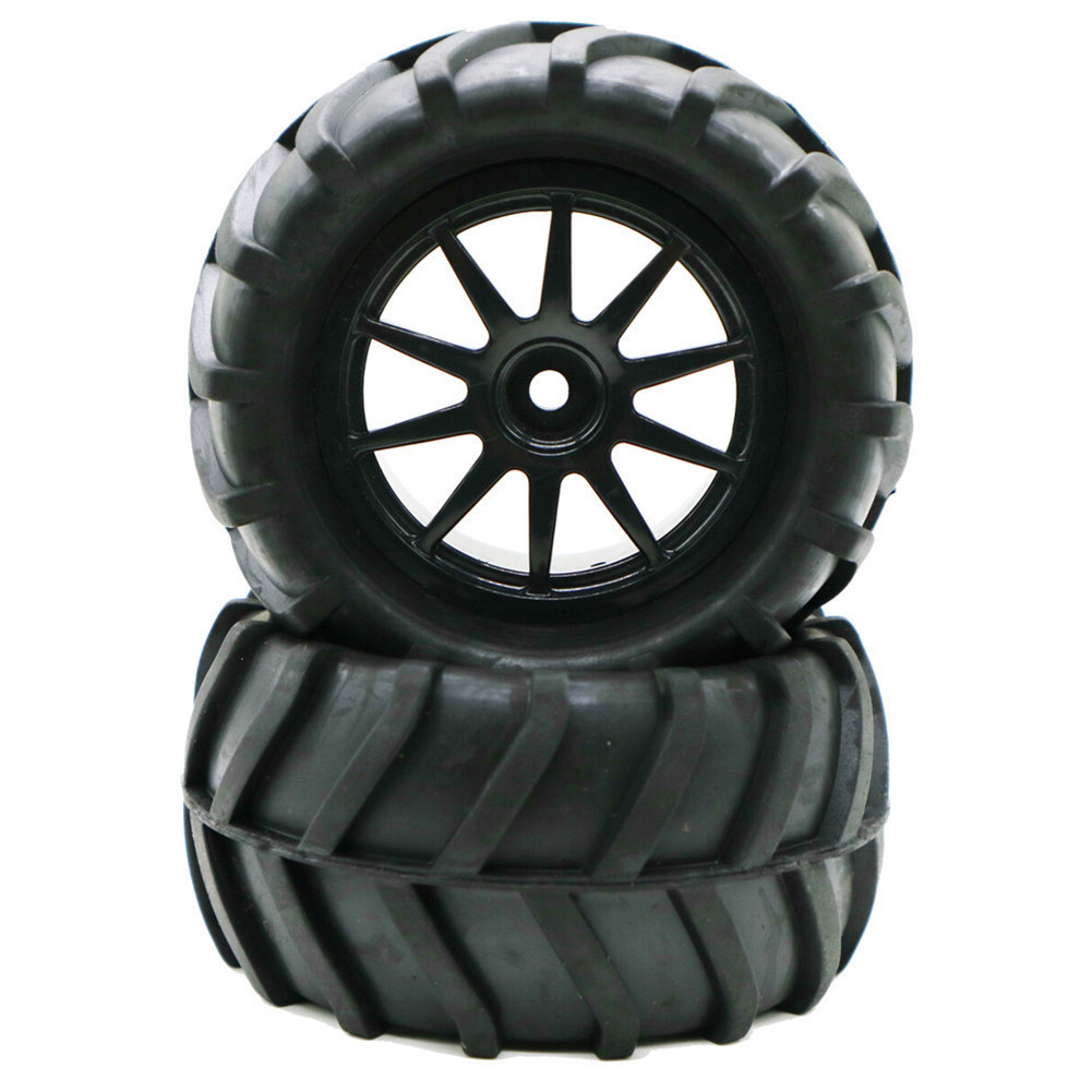1/16 Tires for Remote Control Car Racing Off-road Drift Truck Wheel: 10 holes