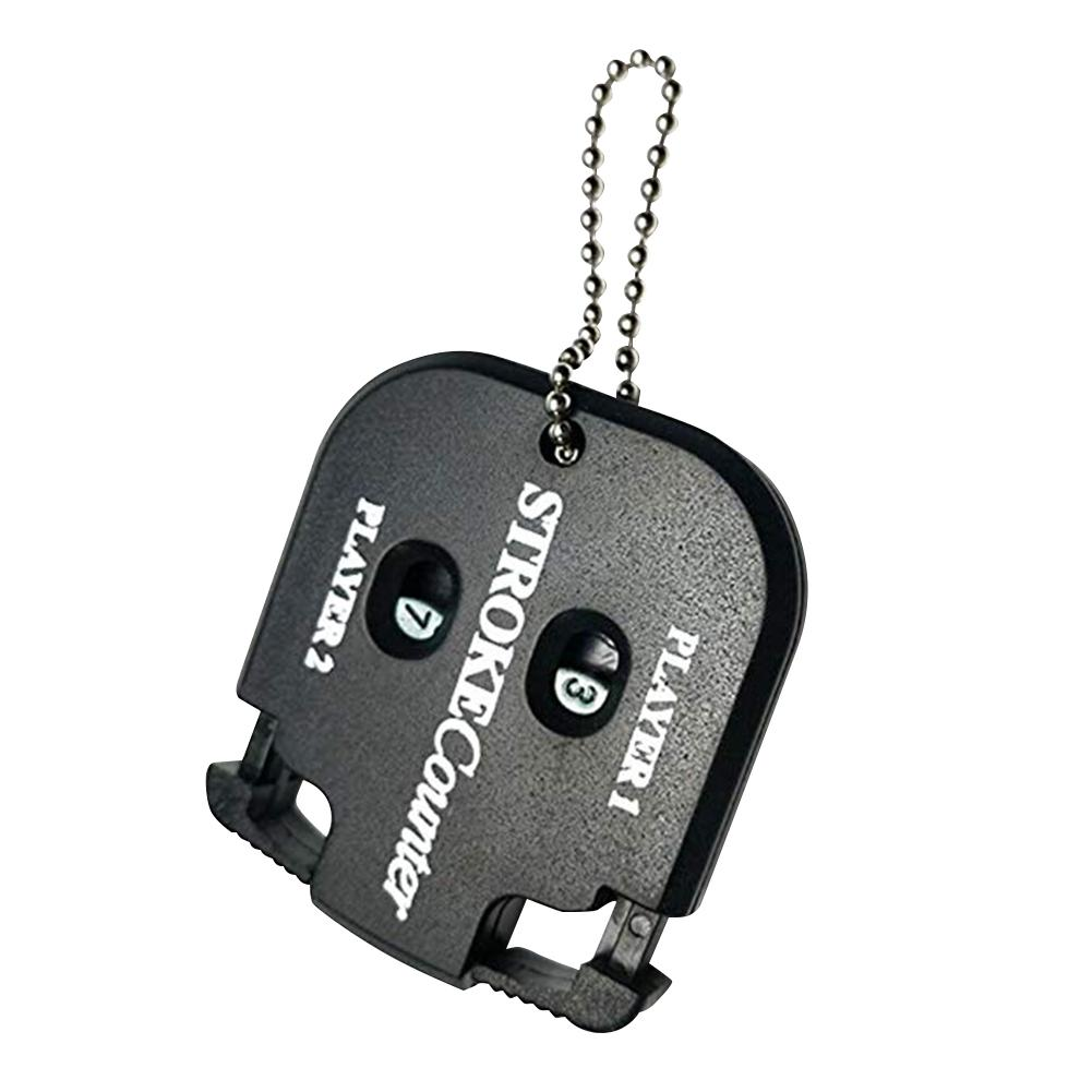 Counter Tools Golf Square Scorer Double Scoreboard Fans Accessories Compact Golf Score Indicator black