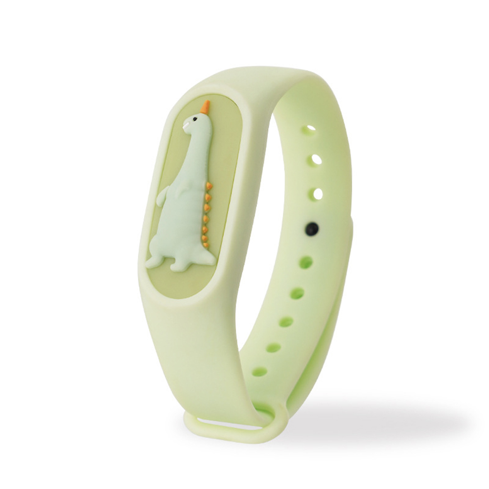 Kids Anti Mosquito Bracelet Cartoon Insect Prevention Safety Silicone Bracelet 8