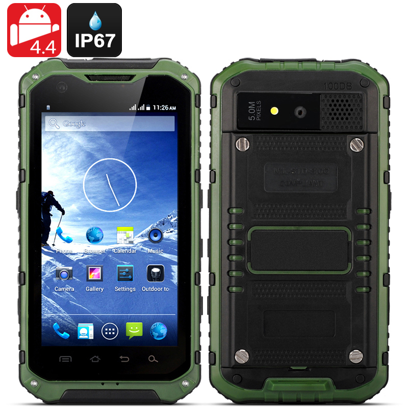 Android Rugged Smartphone 'Ox II' (Green)