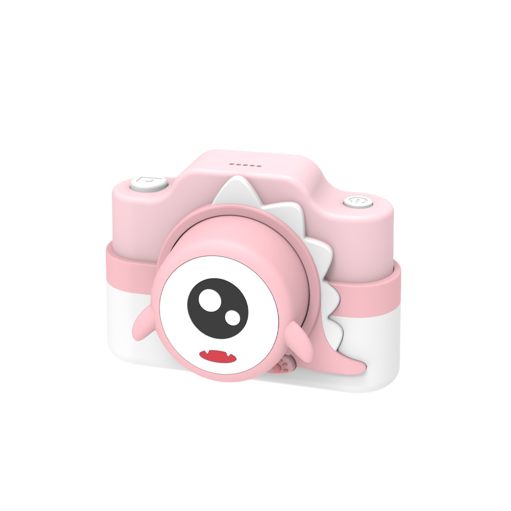 Children Mini Wifi Cartoon Camera Kids Educational Toys for Children Baby Birthday Gift  Pink