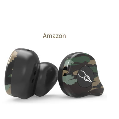 Sabbat X12 Ultra Camouflage TWS True Wireless 5.0 Bluetooth Headset In-Ear Stereo Earbuds Headset Amazon