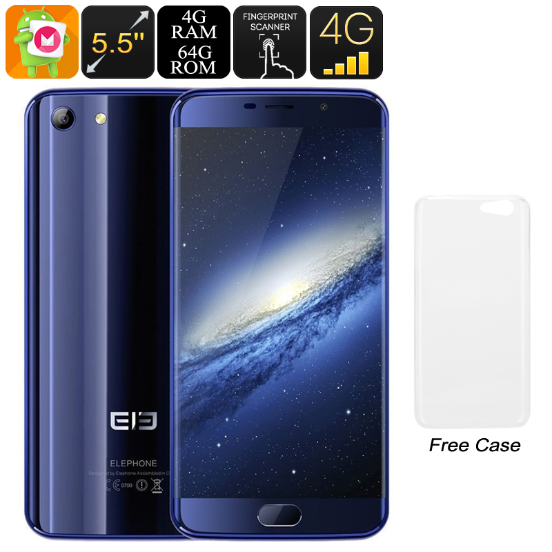 Elephone S7 Android Phone (Blue)