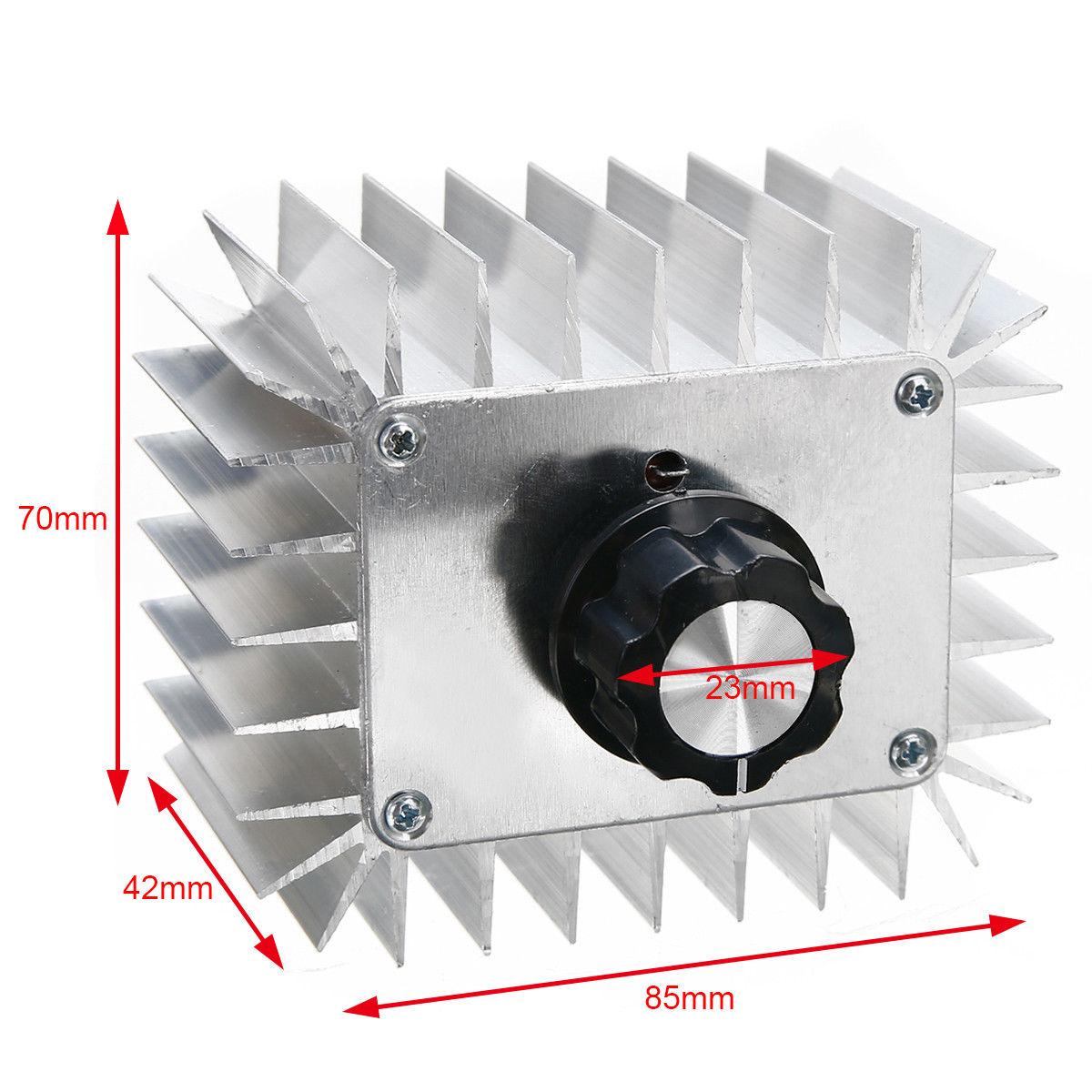 5000w Scr  Voltage  Regulator Dimming Led Dimmer Motor Speed Controller Thermostat Dimer 5000w