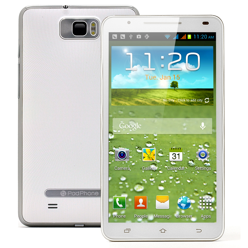 6 Inch Android 4.1 Camera Phone - Glacier