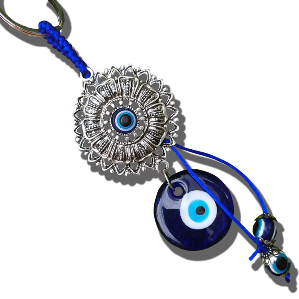 Turkish Blue Eye Lucky Hanging Pendant for Home Car Decoration blue