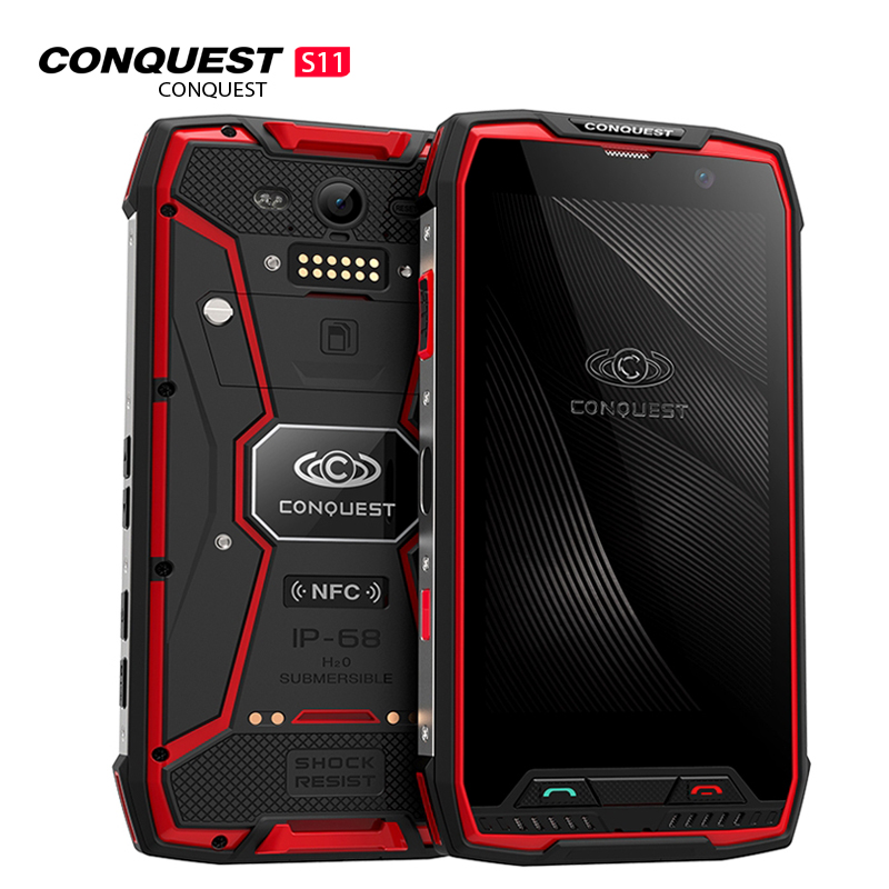 Conquest S11 Smartphone Red 128GB