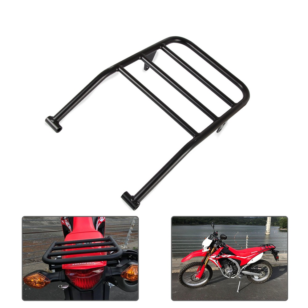 For CRF250L CRF250M 2012-2018 Modified Rack Aluminium Alloy Motorcycle Rear Rack black