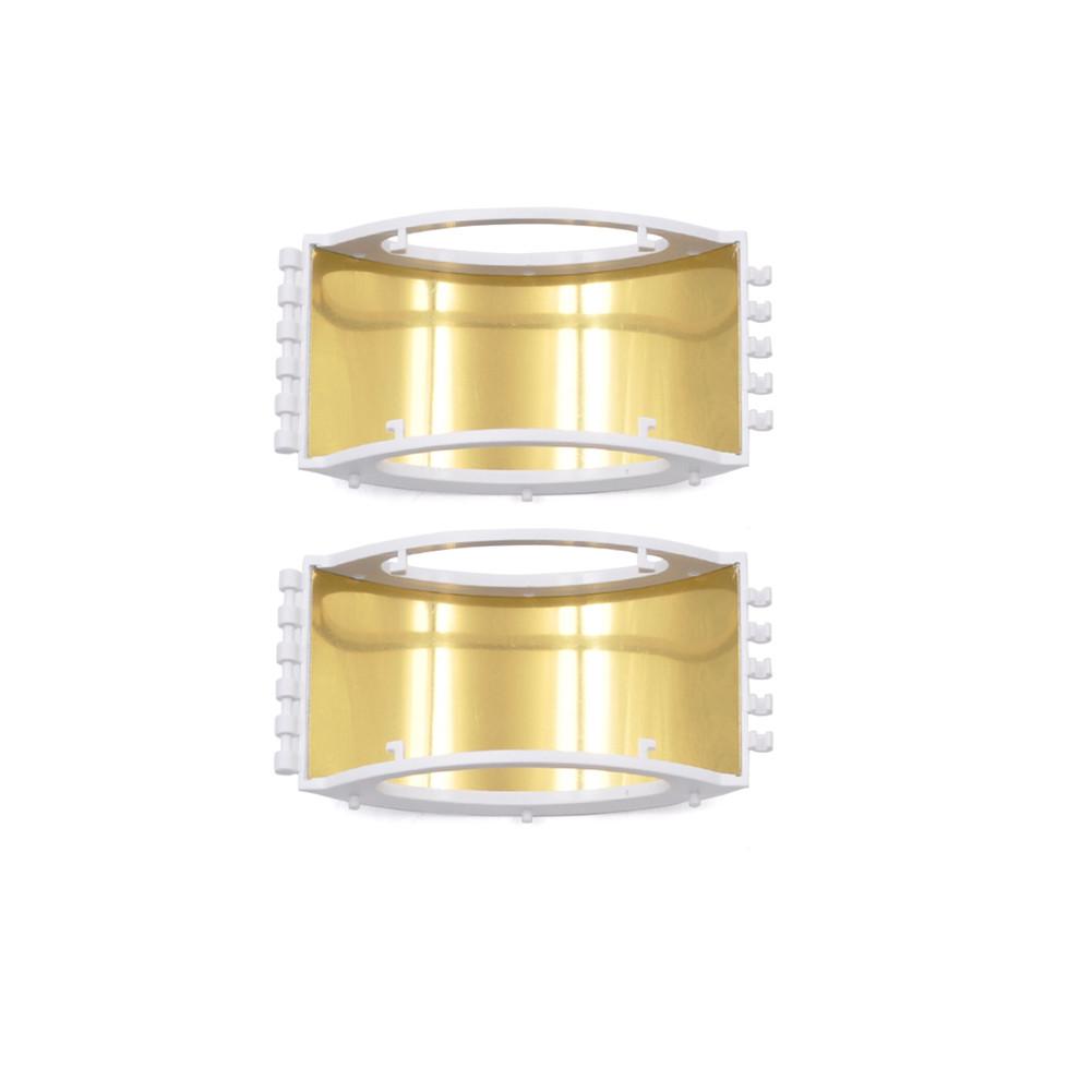 Mavic Mini / Mivic 2 Pro/ /Mavic Pro/ Mavic Air / Spark Controller Signal Booster Range Extender Foldable Parabolic Antenna white_default