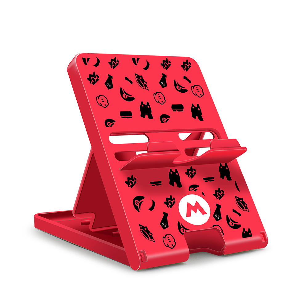Adjustable Holder Plastic Game Chassis Bracket for Nintendo Switch /lite mushroom