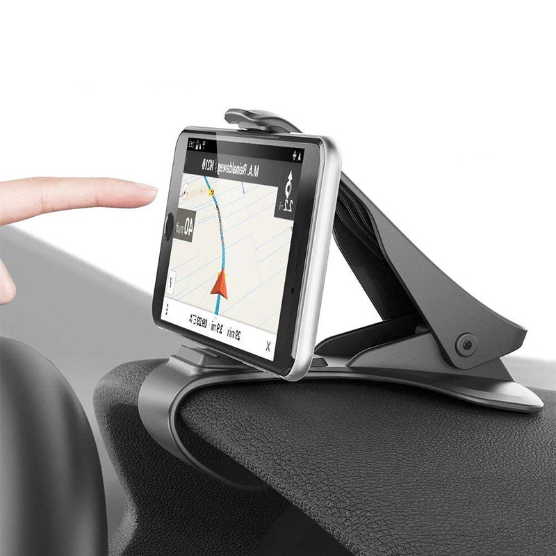 [Indonesia Direct] Car Holder Clip Mount Dashboard Car Phone Holder 360 Rotatable Stand Mount Display GPS Bracket [dashboard clips]