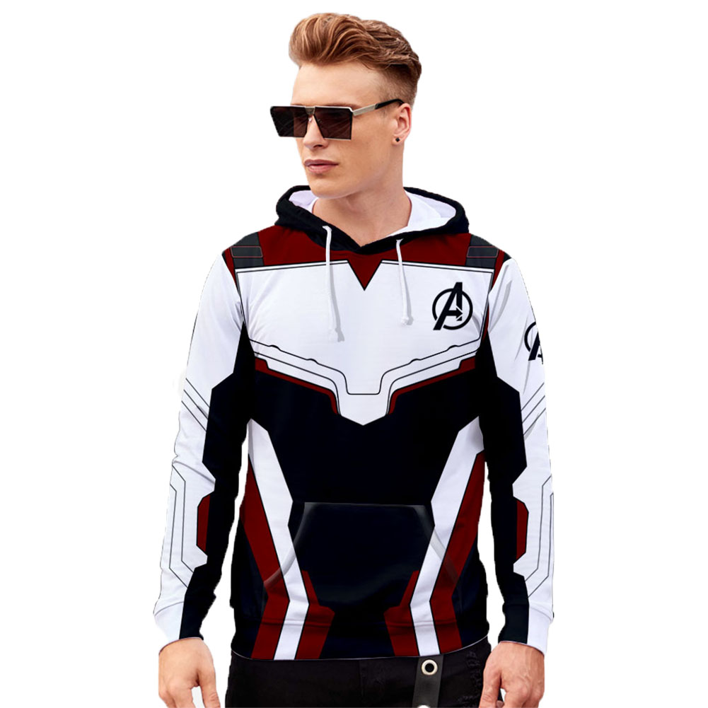 Unisex Advanced Tech 3D Fashion Pattern Long Sleeve Hooded Shirt Sweatshirts Q-3835-YH03_XXXL