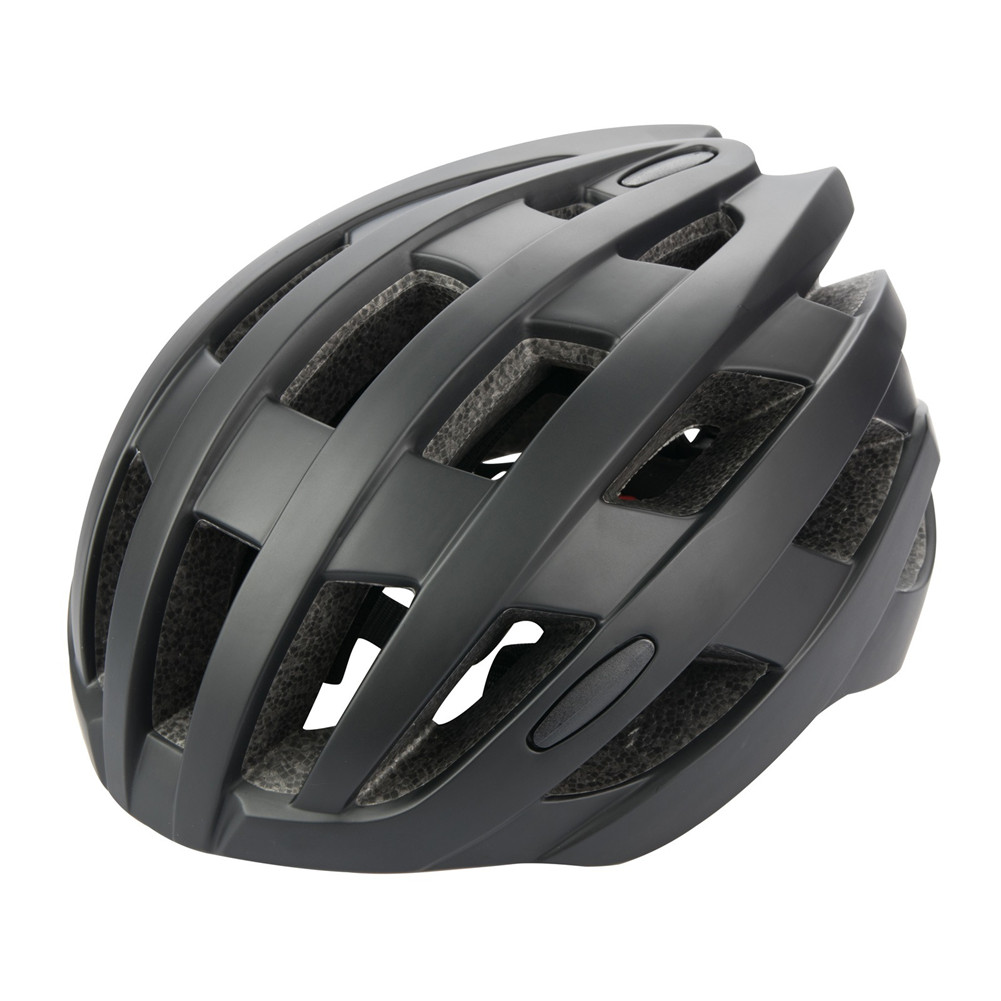 Riding  Helmet EPS Protective Helmet For Road Bike Bicycle Accessories Pure black