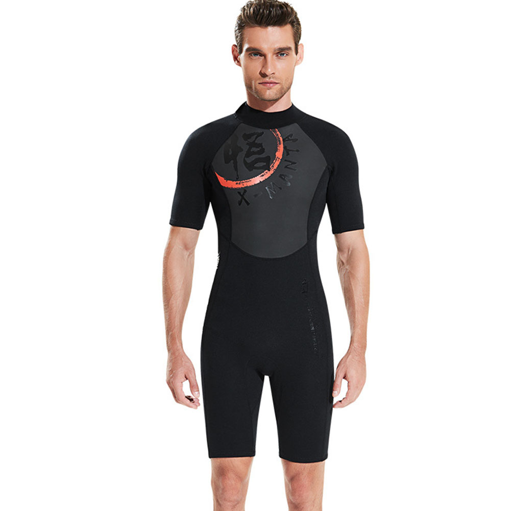 Diving Suit 3MM Siamese Short Sleeve Diving Clothes Thicken Warm Diving Surfing Jellyfish Swimwear