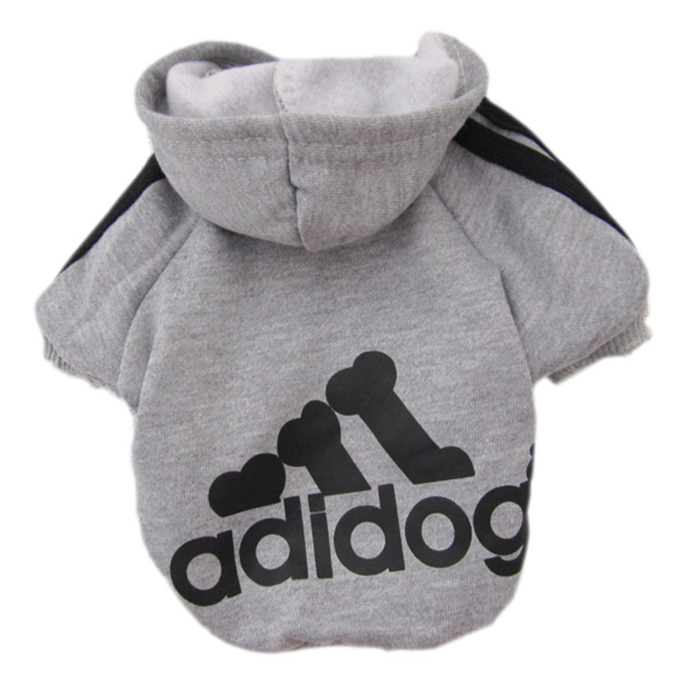 [EU Direct] Eastlion Adidog Pet Puppy Dog Cat Coat Clothes Hoodie Sweater Costumes