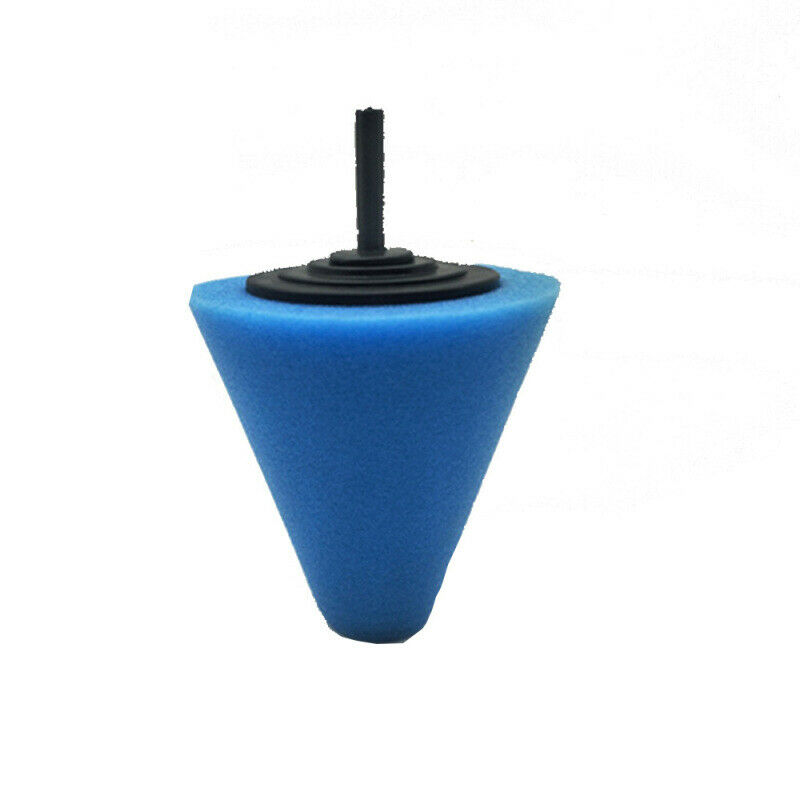 Car Polishing Sponge Conical Shape Wheel Hub Tool Auto Burnishing Foam Disc For Car Cleanning Buffing Pads Accessories