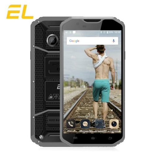 EL W8 2GB RAM 16GB ROM Rugged Phone - Gray