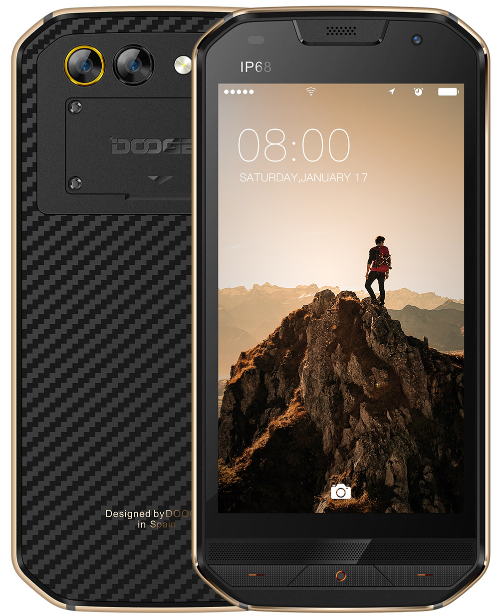 DOOGEE S30 5.0 Inch Phone-Silver