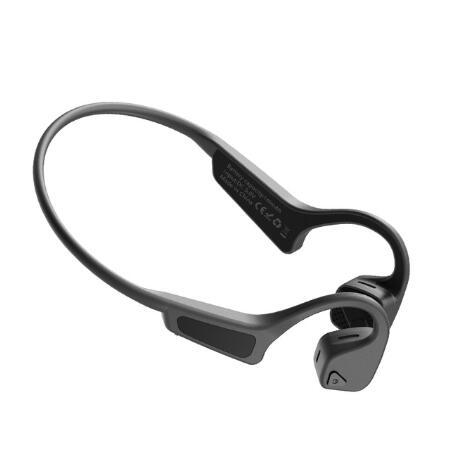 G18 Bone Conduction Headphones Sports Headphones Waterproof Bluetooth Headset black